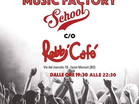 7/12 Concerto LIVE di Music Factory al Robbi Cafè