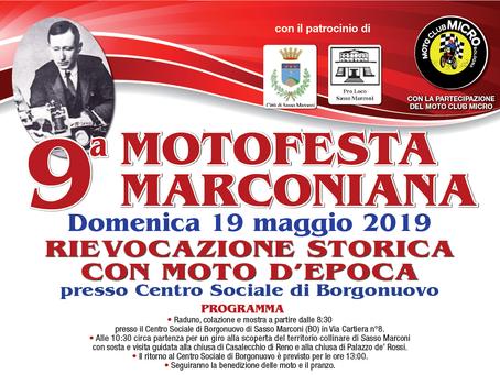 19/05 Motofesta Marconiana al Centro Sociale Borgonuovo