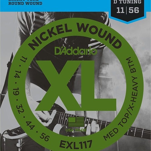 D'ADDARIO EXL117 Medium Top/Extra-Heavy Bottom 011- 056