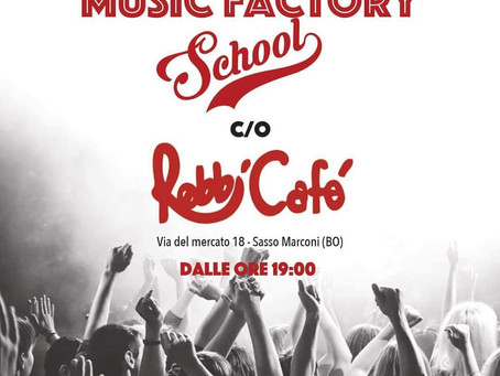 14/06 - MUSIC FACTORY @ ROBBI CAFE