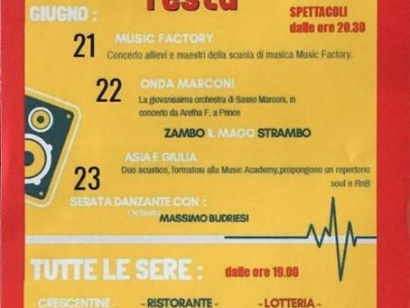 22/06 PUBBLICA IN FESTA a Sasso Marconi