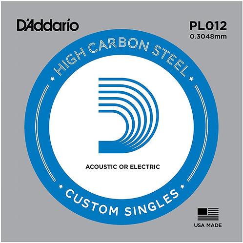 D'ADDARIO PL012 (corda singola)