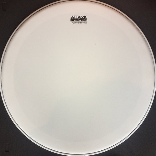 """Attack Drumheads 14"""" 1-PLY - NO OVERTONE  DHNO 14C"""