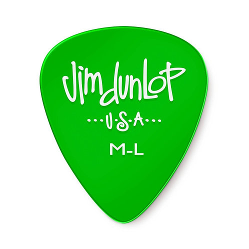 JIMDUNLOP GELS green Med-Light plettro