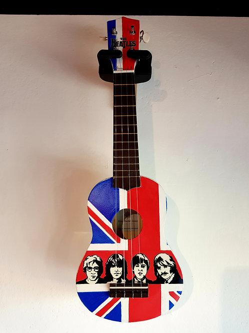 UKULELE 'Beatles' Rivers Mandala Stones
