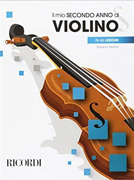 Il Mio Secondo Anno Di Violino Metodo Per Violino 2 In 60 Lezioni