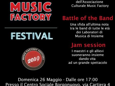 26/05 MUSIC FACTORY Festival