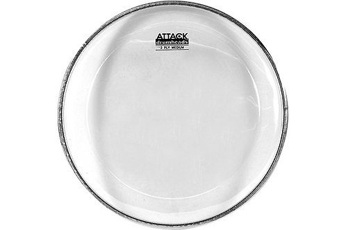 "Attack 14"" 2-Ply Medium Thin Clear Head"