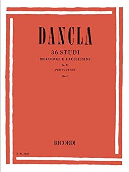 DANCLA 36 studi melodici e facilissimi