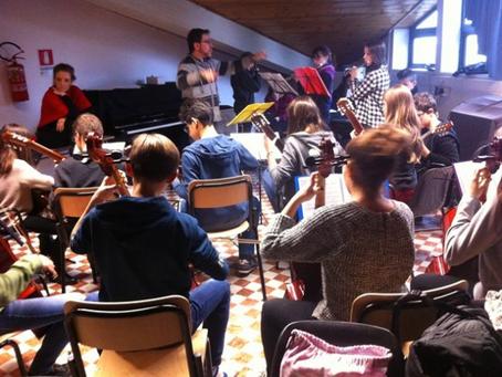 19/12 - Concerto di Natale degli allievi di strumento musicale dell'Istituto di Borgonuovo.