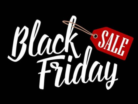 BLACK FRIDAY & Black Week! Sconti dal 30% al 50%
