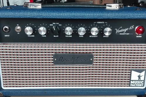 Testata Amplificatore, Vintage 18, Naughty Boy, DeLux