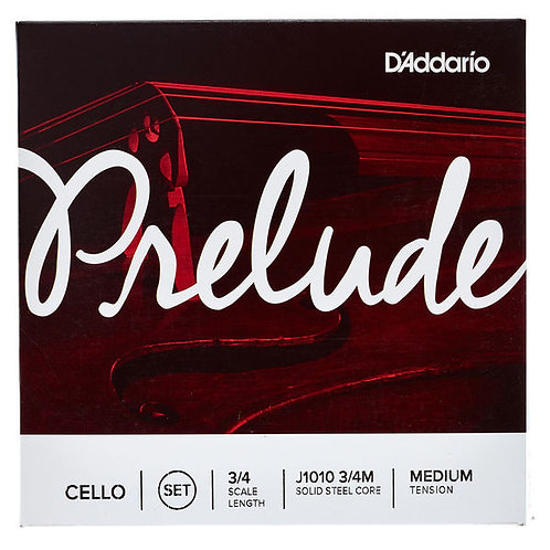 D'addario J1010-3/4M Prelude Cello 3/4 set