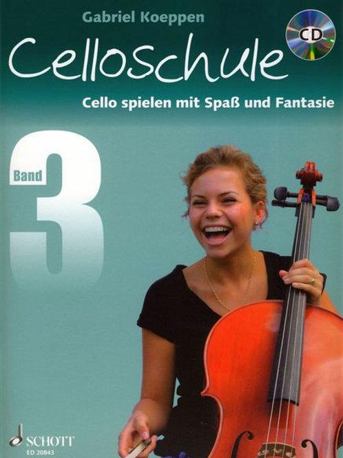 Schott Celloschule Vol.3