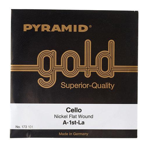 Pyramid Gold Cello String A - LA