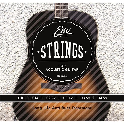 Eko Acoustic Guitar Strings Bronzo10-47