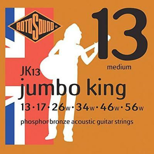 ROTOSOUND Jk13 Jumbo King Muta Acust. Phosphor Bronze 13 - 56