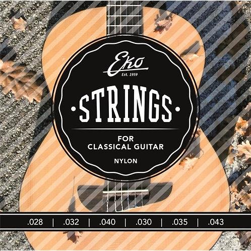 Eko Classic Guitar Strings 28-43 Medium