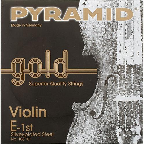 Pyramid Gold Violino Corda Singola MI E String 4/4