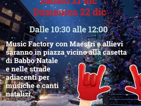21/12 SANTA CLAUS come to Sasso Marconi
