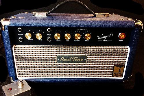 Testata Amplificatore, Vintage 18, Classic, RealTone