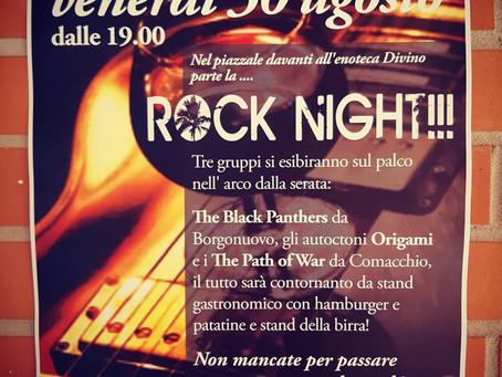 30/08 ROCK NIGHT Vergato