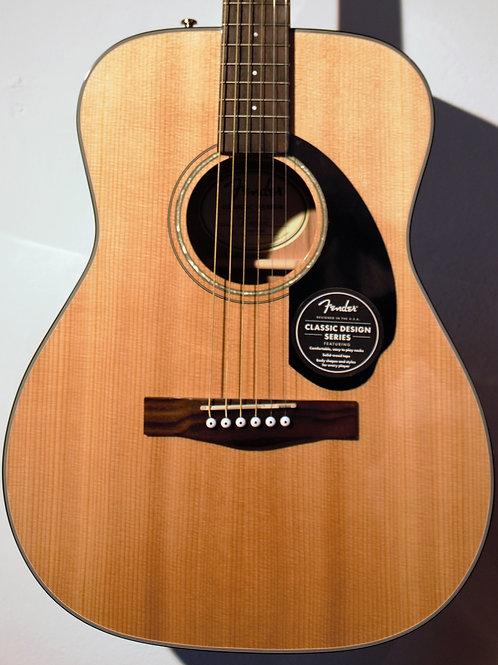 Acustica Fender, CC 605 Natural