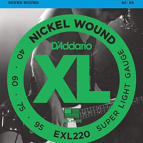 D'ADDARIO EXL220 Super Light