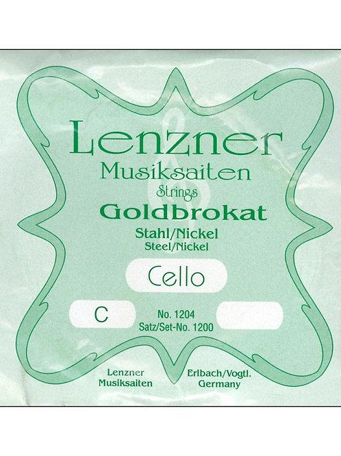 Corda per violoncello C - DO LENZNER string