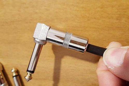 Cavo Per Pedali 15 cm Jack a Pipa (angle jack) - Produzione Music Factory