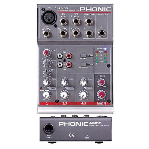 PHONIC AM55 Mixer