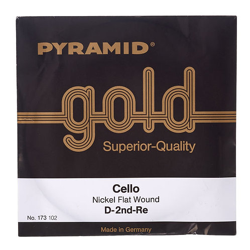 Pyramid Gold Cello String D - RE