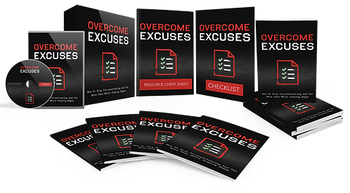 Overcome Excuses (Video Course)