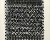 Heinz Mack, Untitled, Black wax crayon o