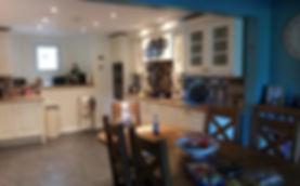 finished kitchen ashbourne