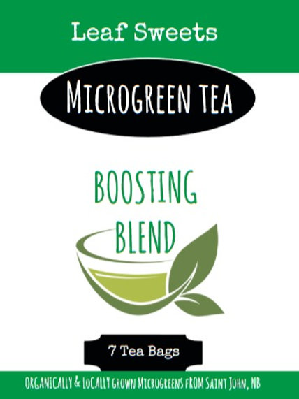 Boosting Microgreen Tea