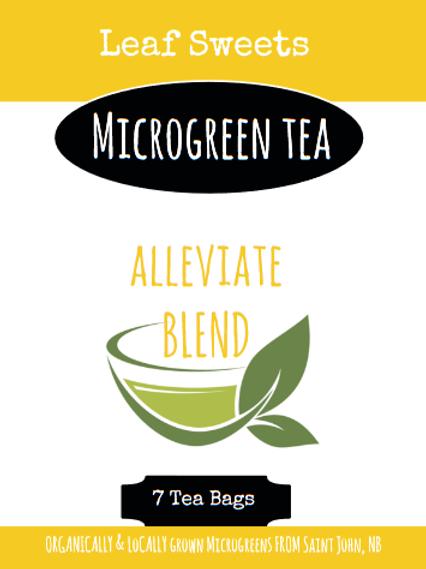 Alleviate Microgreen Tea Blend