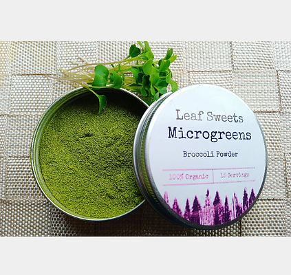 Broccoli Powder - Microgreen Stage