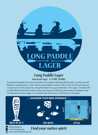 LONG PADDLE LAGER