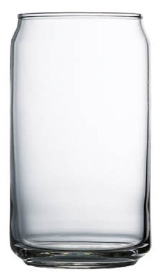 16 Oz., Pub Glass, Round Base, Beer Holder, Beverage Holder, Pint Glass, Transparent