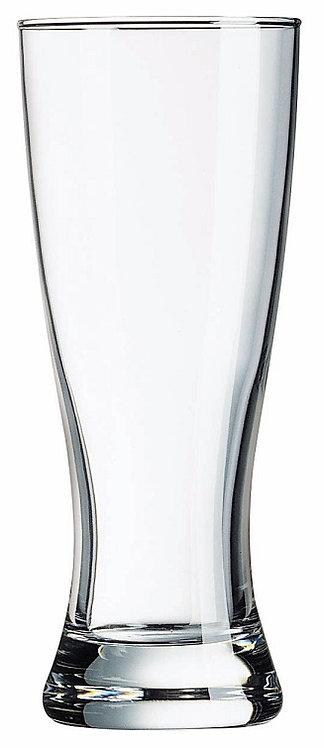 Glass, Contoured Base, Transparent, GA-19416, pilsner, beer, draught, craft beer