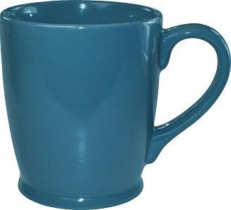 Kinzua, Ceramic, Coffee Cup, Hot Beverage Holder, Handle, Wide Mouth, Tapered Body, Beverage Holder