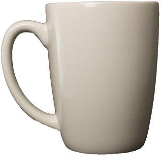 Ceramic, Vitrified, 12 Oz., Drinkware, Round, Ear Handle, Coffee Holder, Hot Drink
