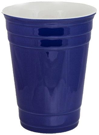 Beverage Holder, Ceramic Cup, 14 Oz., Beverage Carrier, Open Top