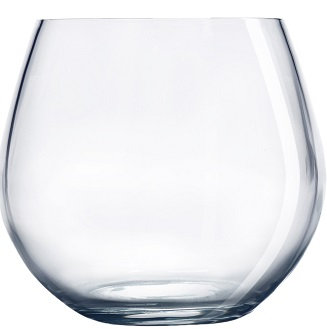 Stemless, Red Wine, Round, Beverage Holder, Round Bottom, Tapered Top, Wide Mouth, Drinkingware, Barware, Glassware
