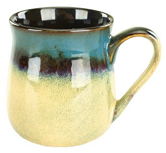 16 oz, Coffee Mugs, Barrel, Tavern Mug, Multi-colored, Kitchen decor