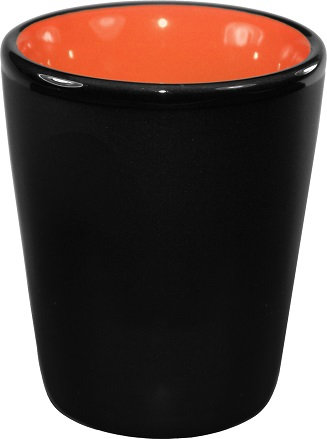 1.5 oz., Ceramic, Shot Glasses, Bar, Drinkware, Matte Black Shot