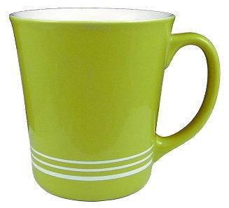 Custom, Personalized, Round, C Handle, Ceramic, Gloss Finish, Coffee Cup, Hot Beverage, Circular Rim, Deep Cut,