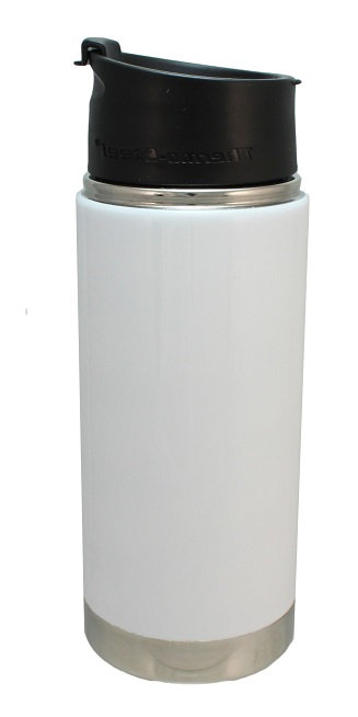 Scout, 16 Oz., Water Container, Double Wall Stainless, Vacuum Insulated, Flip Top Lid, Gasket Seal, Beverage Holder