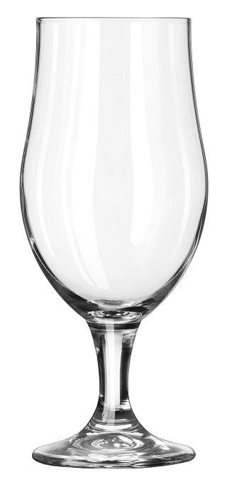 Beverage Holder, Glass, Beer, 16.5 Oz., Pedastal, Stemware, Stem, Munique